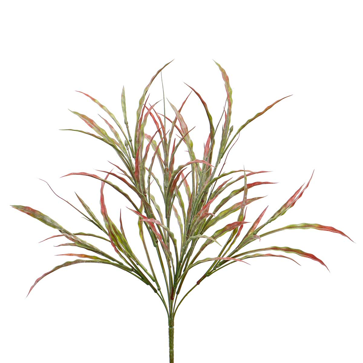 "FLAT GRASS BUSH 16""X21"" RED/GREEN"
